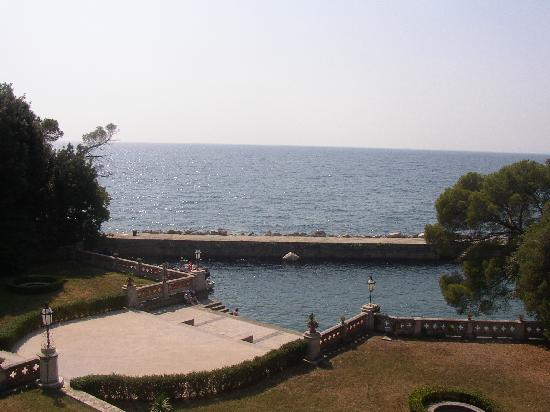 Castello di Miramare - Museo Storico: The private harbour attached to the house.
