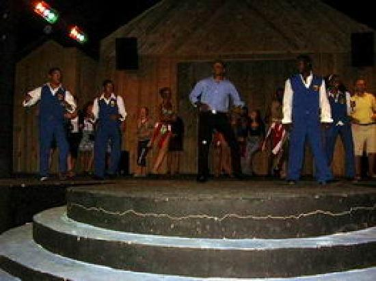 Occidental Caribbean Village Playa Dorada : Entertainers - Jimmy, Rafy, Joe, Blaky & Jhohanna
