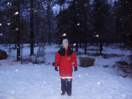 Santa Claus Village: Lovely snow suits