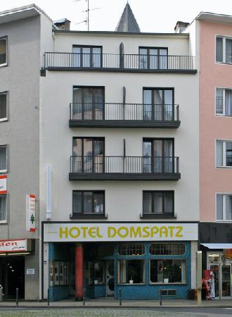 Eazires Hotel Domspatz City : Outside view of Hotel Domspatz, Cologne