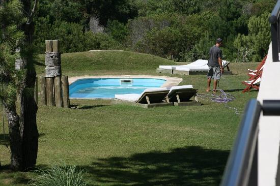 Posada Azul Marino: picture of the pool