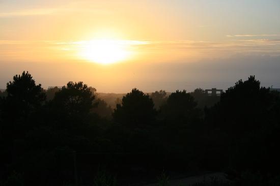 Posada Azul Marino: sunrise from our deck