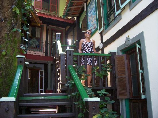 Porto Pacuiba Hotel: Entrada a la recepcion del hotel