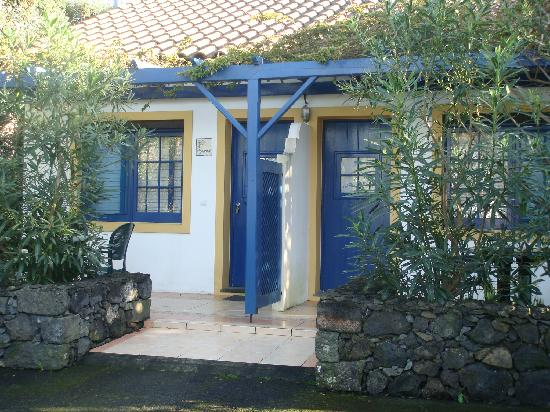 Rabo de Peixe, Portugal: One of the little houses at Quinta de Santana