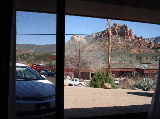 Sedona Motel: View from my room (#30)