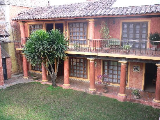 Hotel Casa Mexicana: Innenhof im 2. Gebäudeteil