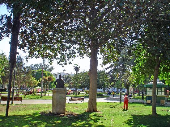 La Serena: la plaza de Armas