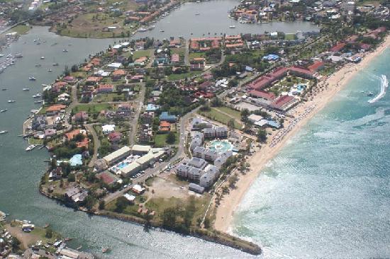 Rodney Bay, Reduit Beach, and the Marina