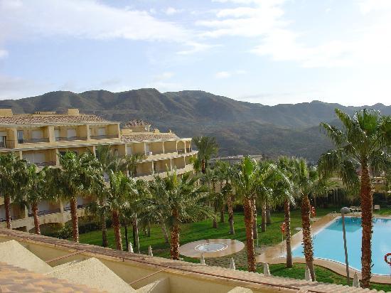 Vincci Hotel Envia Almeria Wellness & Golf: View from bedroom balcony