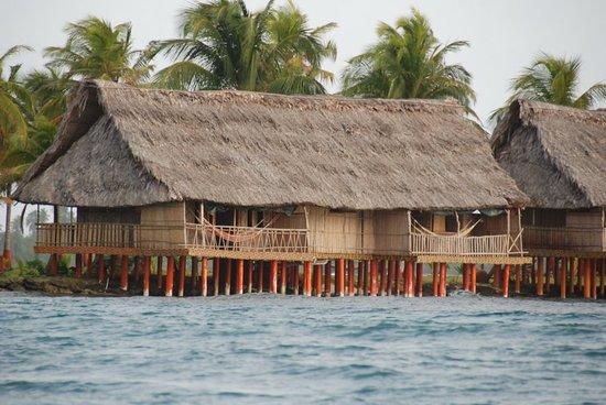 Sapibenega The Kuna Lodge: Living quarters