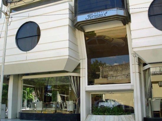 Terrazas Hotel: Outside of the Hotel Terrazas