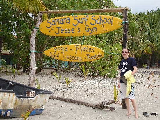 Jesse's Samara Beach Surf School: Jesse's Surf School