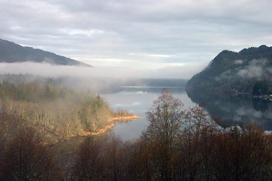 South Bay Bed and Breakfast : Lake Whatcom in the morning