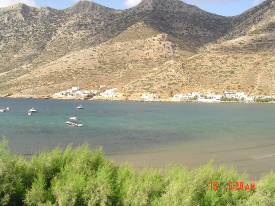 A view, Stavros Hotel