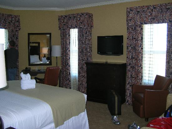 Holiday Inn Express Savannah - Historic District: Our Room