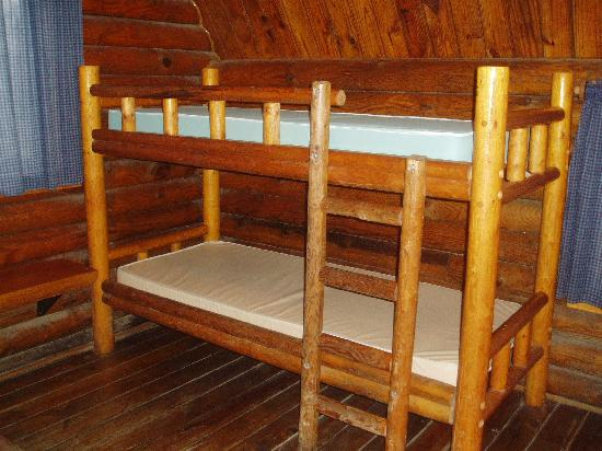 San Antonio KOA Campground: bunk beds