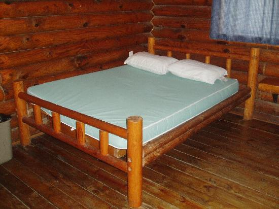 San Antonio KOA Campground: double bed