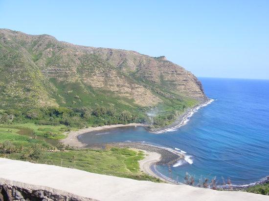 Wyspa Molokai, Hawaje: Halawa Bay