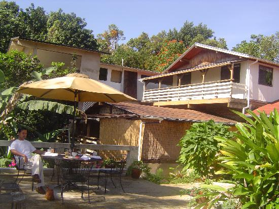 Rainforest Inn: View of the chalet