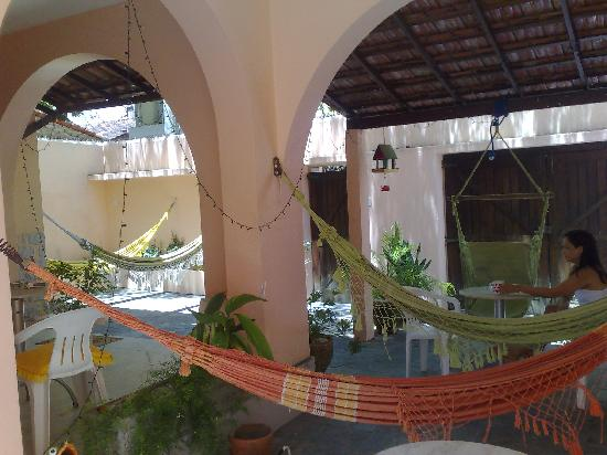 Barra Guest Hostel: area to chill out