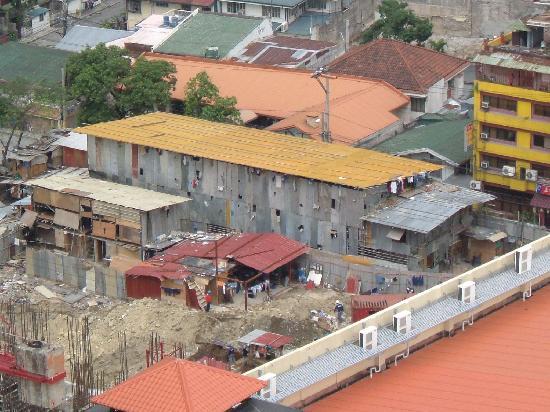 Berjaya Makati Hotel - Philippines: building site