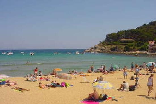 Hotel Bon Repos: Calella Strand