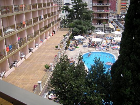 Hotel Bon Repos (Zimmeraussicht)
