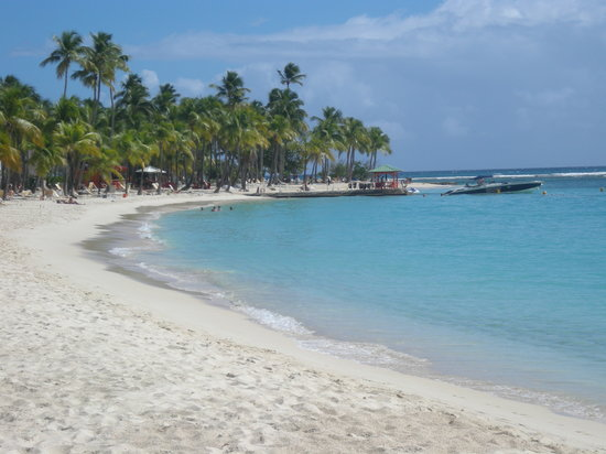 Sainte-Anne, Guadeloupe: Plage de la Caravelle, Ste-Anne