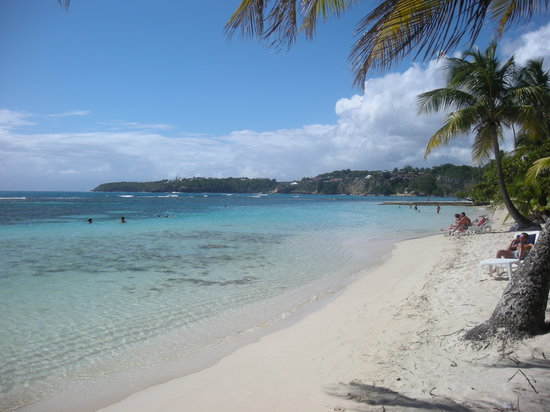 Сент-Энн, Гваделупа: Plage de la Caravelle, Ste-Anne