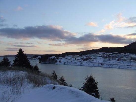 Marystown, Canadá: Creston South- view of Creston North