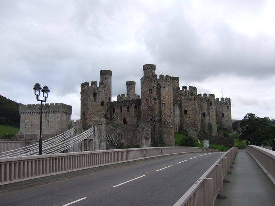 Conwy Castle照片