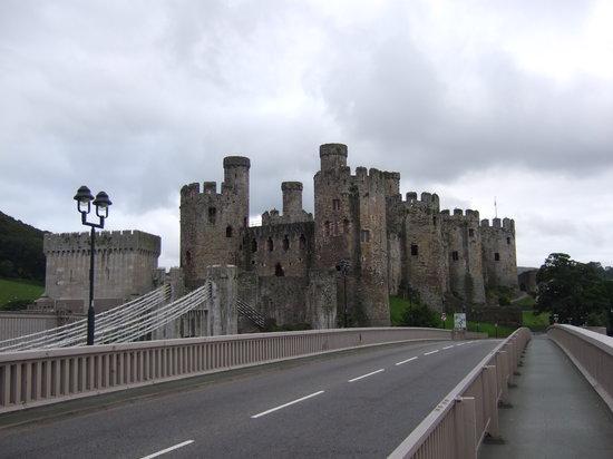 Conwy Castle: Conway Castle,North Wales.