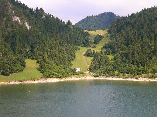 Niedzica, Polandia: Pieniny's mountains