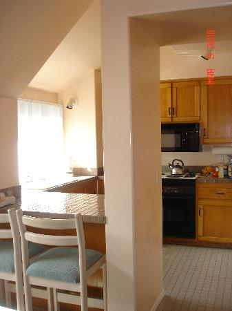 Wave Crest Resort: another view of the kitchen