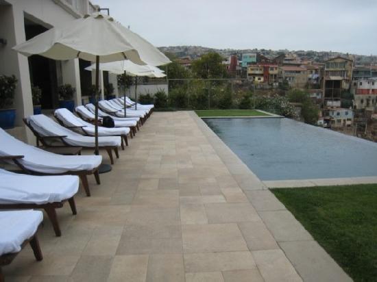 Casa Higueras: Restaraunt is nice