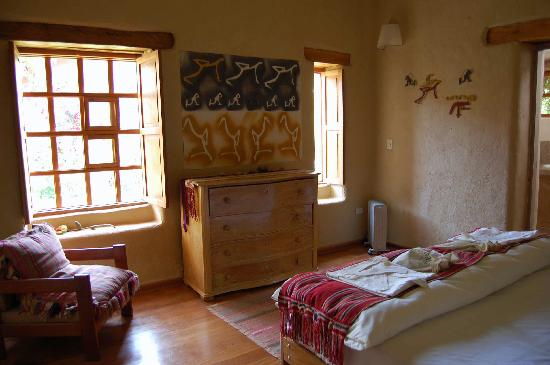Urubamba Villas: Master bedroom