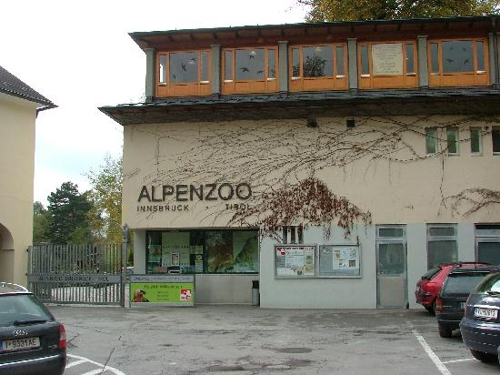 อินส์บรุค, ออสเตรีย: Alpenzoo Entrance