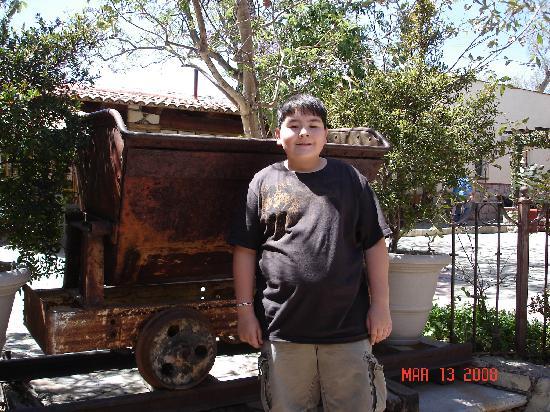 Hotel Insurgente Allende: mining cart