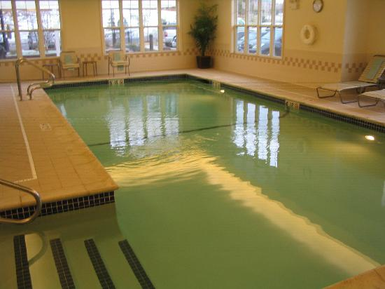 Residence Inn Boston Marlborough: Indoor pool