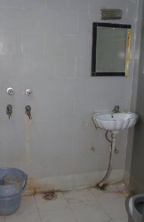 Hotel Major's Den: Our Bathroom