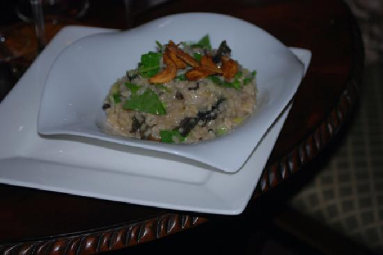 Alchemy Restaurant and Bar: Risotto at the Winchester Inn