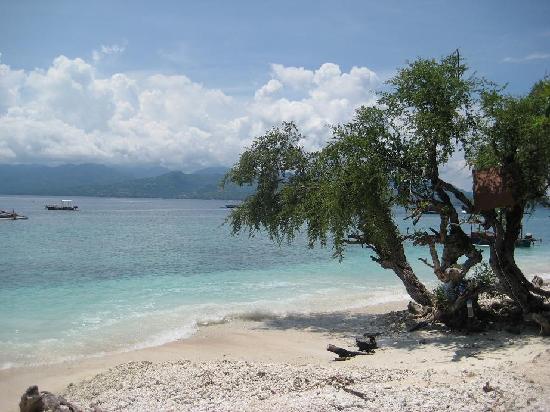 Bali, Indonesia: Beach at Gili Trawangan