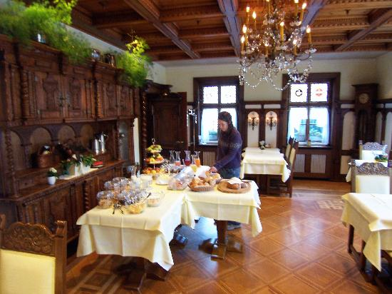Hotel Appenzell : included breakfast
