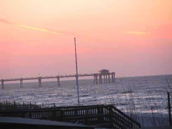 Okaloosa Island: View in the A.M.