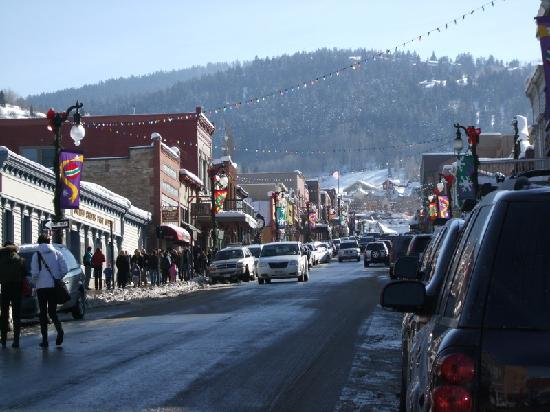 Comstock Lodge : Main Street, Park City - 5 minutes from Deer Valley by free bus
