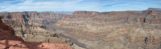 Hualapai Reservation, AZ: View from Guano point