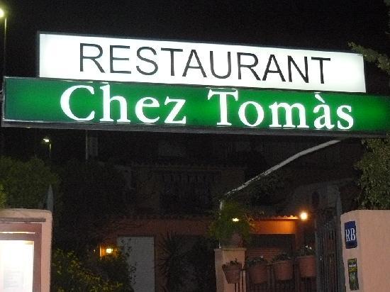 Casamar Hotel : Chez Tomas Restaurant
