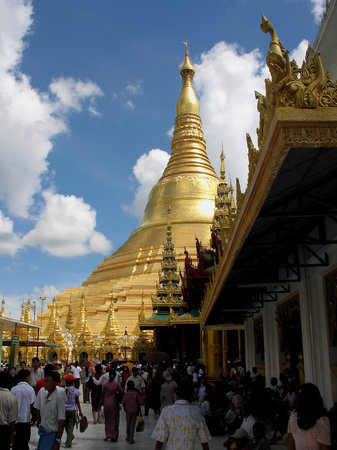 Yangon (Rangoon), Birmania: Shwedagon