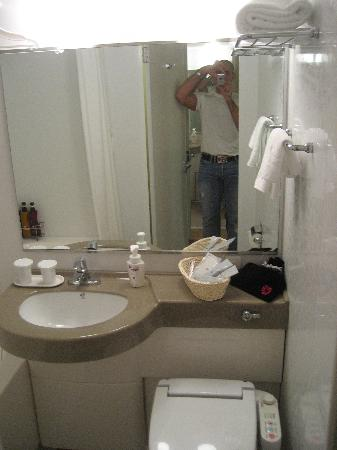 Hotel Sunroute Plaza Shinjuku: Bathroom