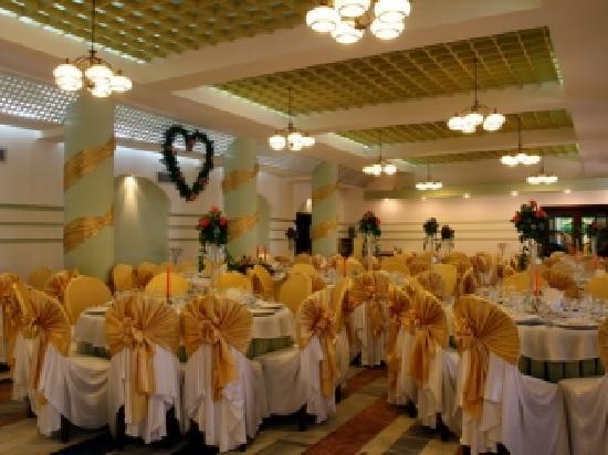 Buzau, Romania: the restaurant